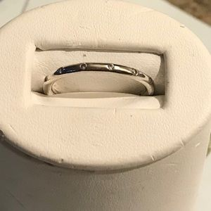 Authentic Pandora SS Droplets CZ Ring Size 71/2